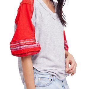 We the Free People Bubble Sleeve Shirt XS